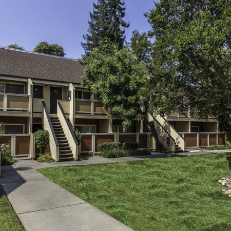 Enjoy the neighborhood at The Timbers Apartments in Hayward