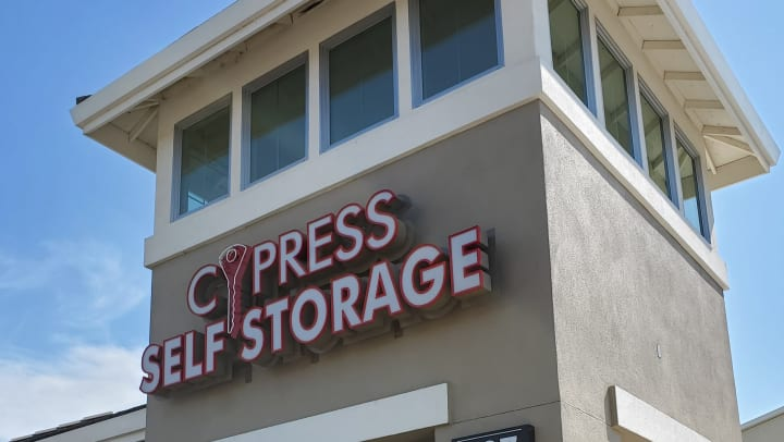 Front of Cypress Self Storage