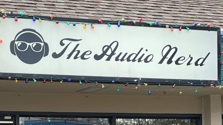 The Audio Nerd Sign