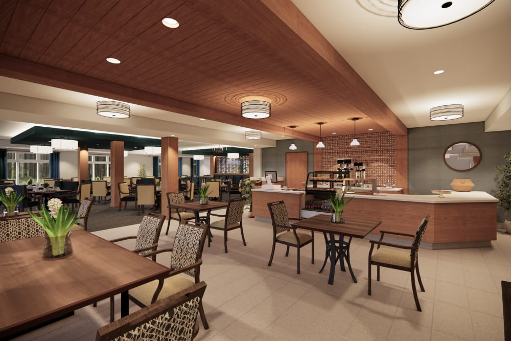 Bistro at Broadwell Senior Living in Plymouth, Minnesota