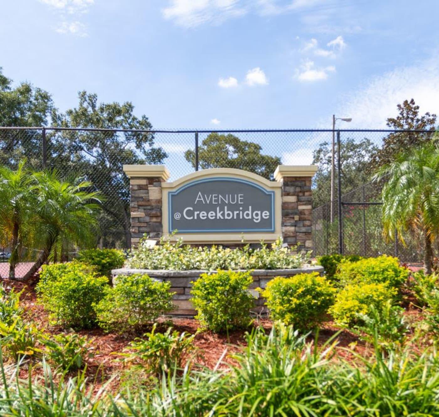 Private balcony at Avenue @Creekbridge in Brandon, Florida