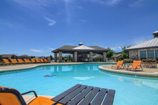 Pool at Tradan Heights in Stillwater, Oklahoma