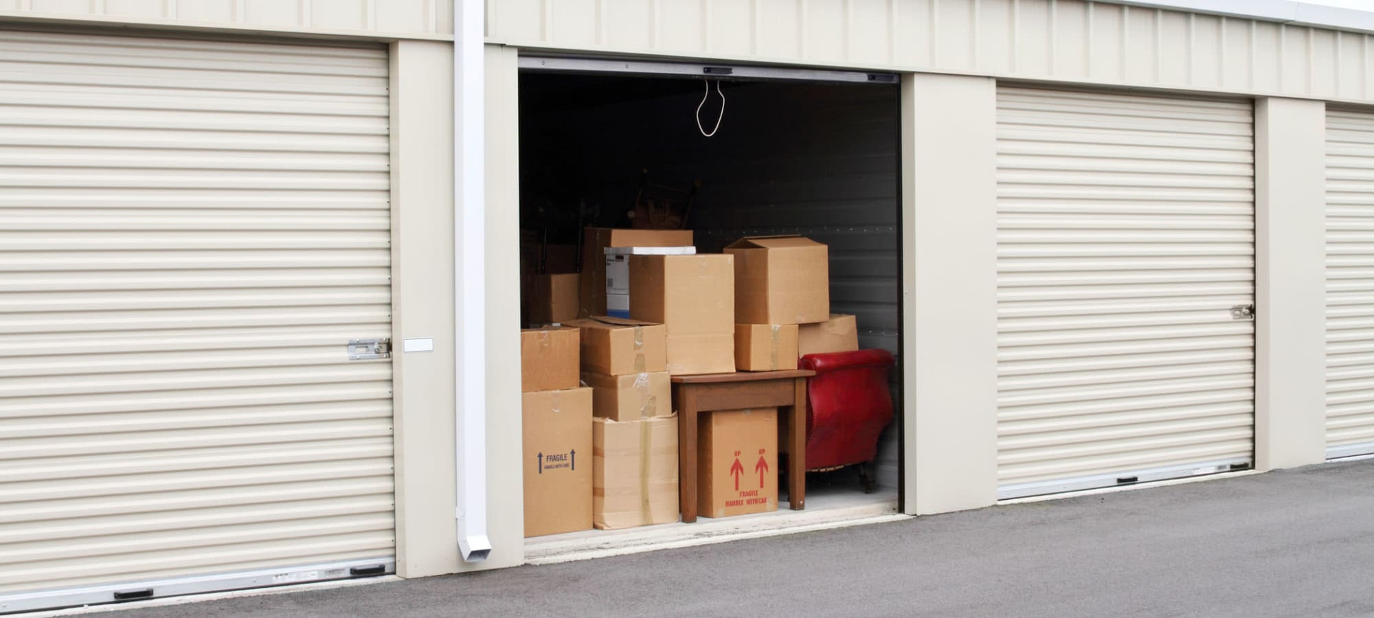 RV, boat and auto storage at South Albany Self Storage in Tangent, Oregon