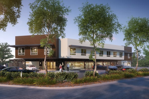 A rendering of a community with Avenir Senior Living in Scottsdale, Arizona
