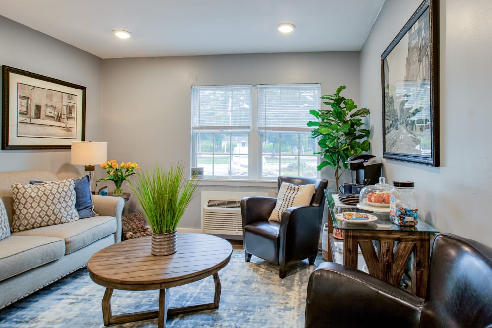 Enjoy a living room at Wood Haven Senior Living Senior Living Community