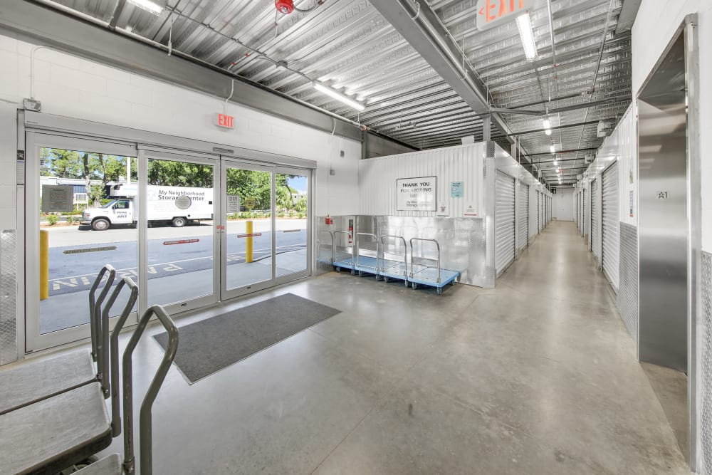 Leasing office at My Neighborhood Storage Center in Tampa, Florida