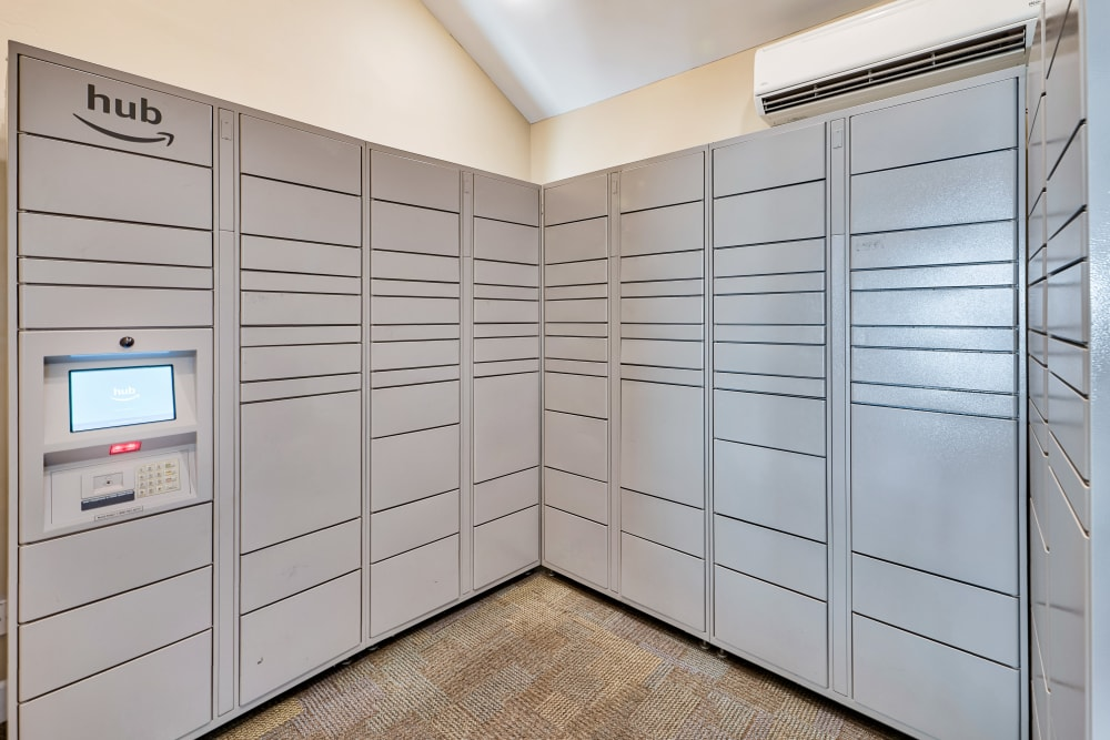 Package Lockers at Greenspoint at Paradise Valley in Phoenix, Arizona