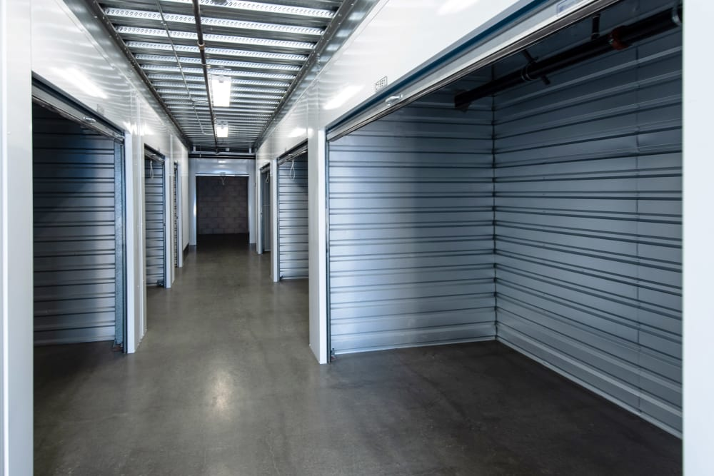 Wide interior units at Silverhawk Self Storage