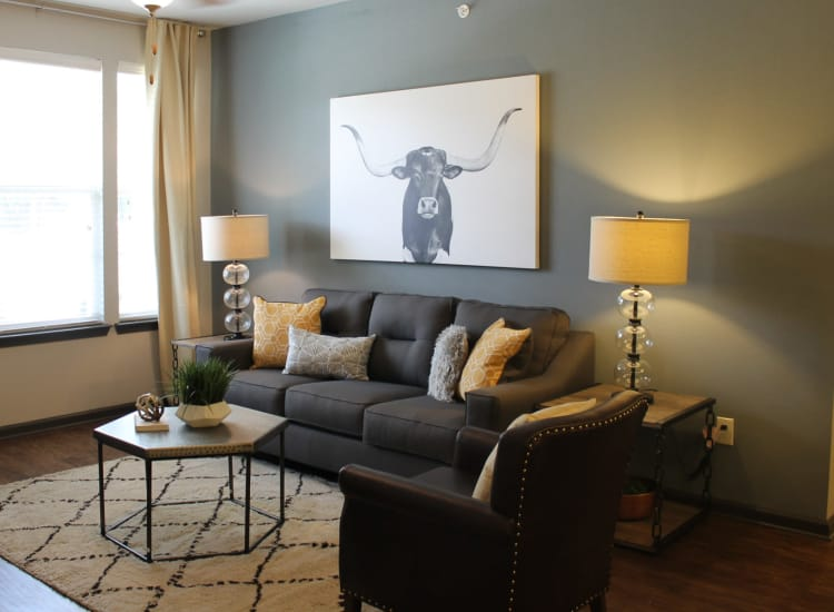Living Room Photo of Springs at McKinney