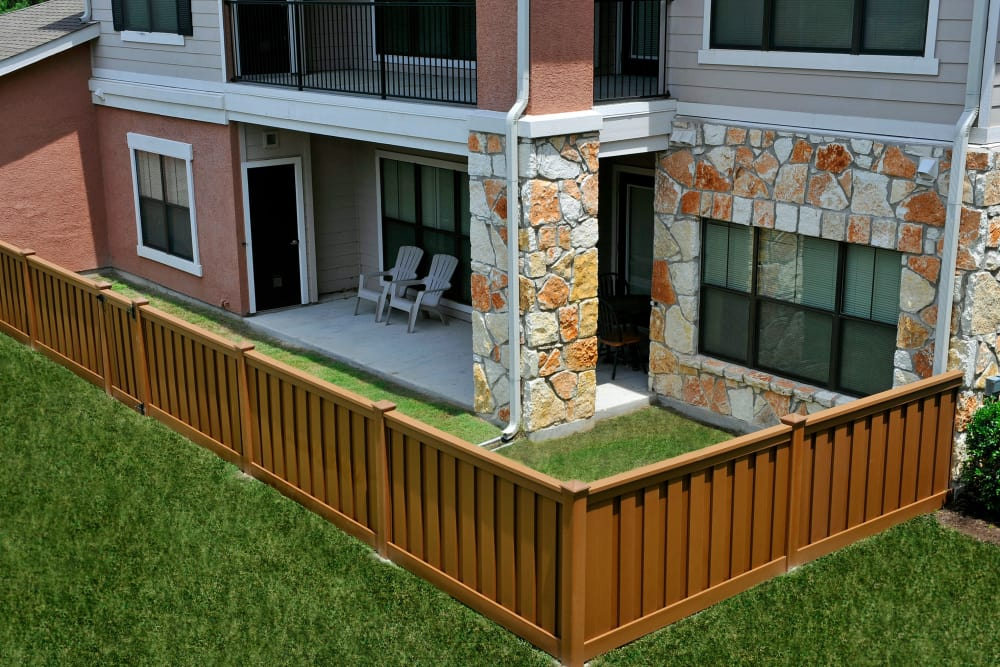 Enjoy Apartments with Patios at Onion Creek Luxury Apartments in Austin, Texas