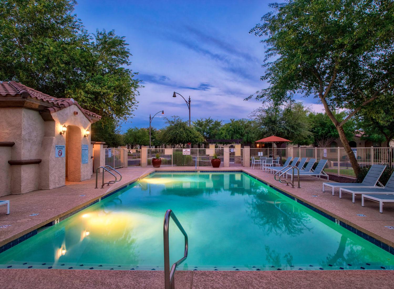 Higley Park apartments in Gilbert, Arizona