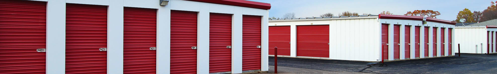 Self storage units for rent in Springfield, MI