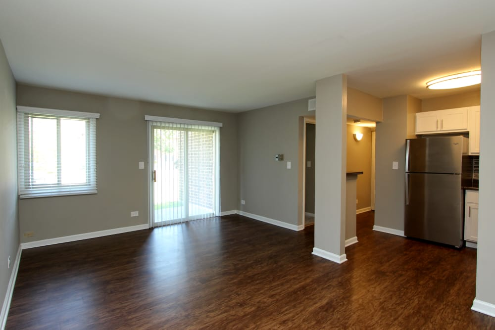 Spacious rooms at Cypress Place