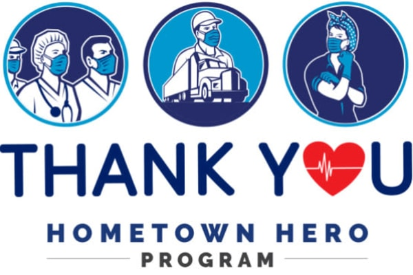 Thank you hometown heroes from Dulles Greene in Herndon, Virginia