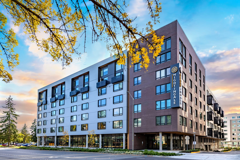 Exterior of building at Nightingale in Redmond, Washington