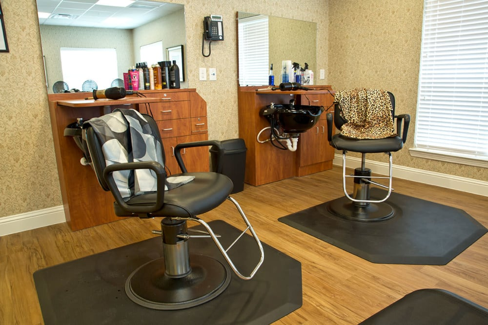 Barbershop at The Village of Meyerlandin Houston, Texas