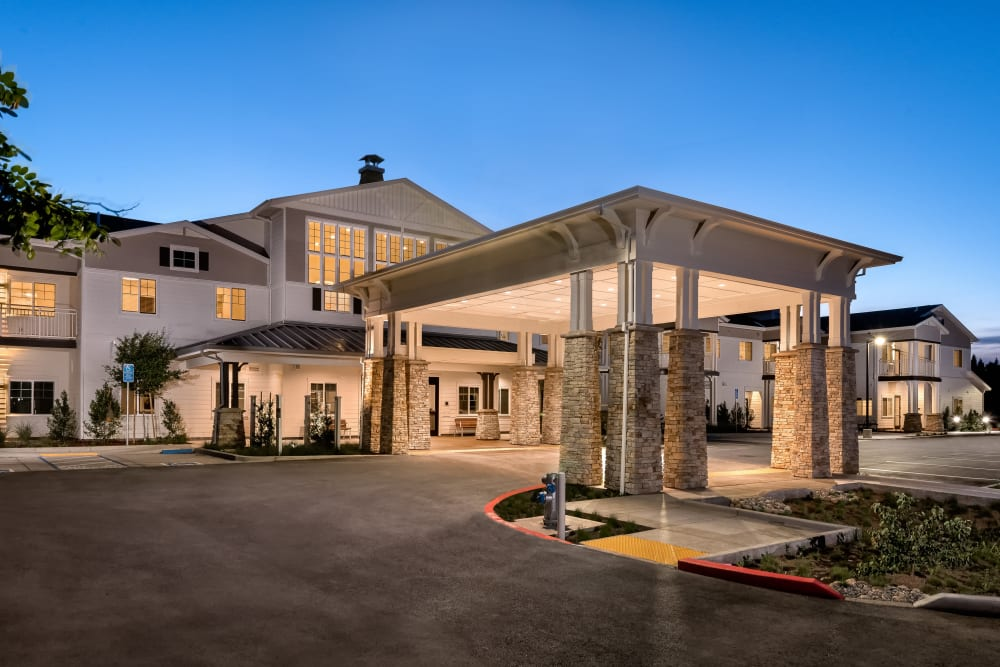 Main Entrance of Clearwater at Sonoma Hills