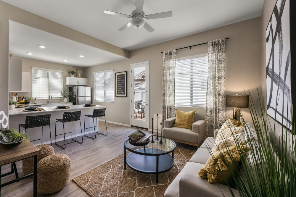 View the floor plans at TerraLane at Canyon Trails in Goodyear, Arizona
