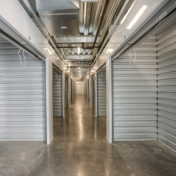 Open climate-controlled units at StorQuest Self Storage in Scottsdale, Arizona