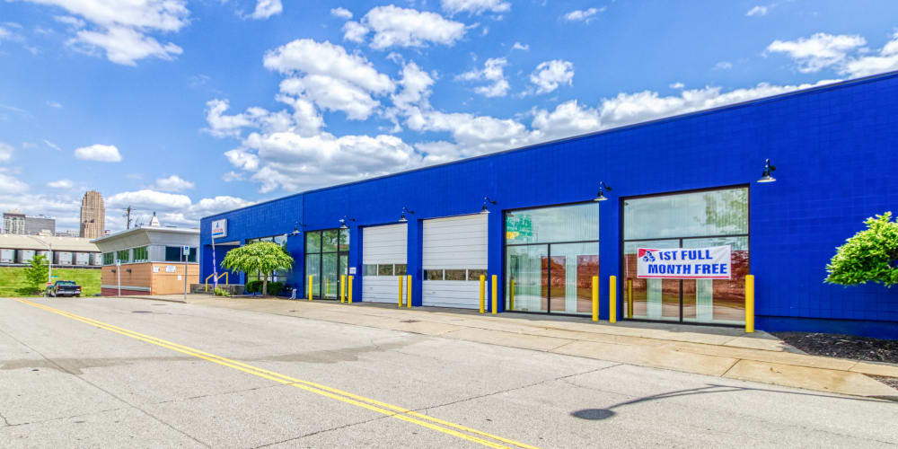 Exterior at Devon Self Storage in Cincinnati, Ohio