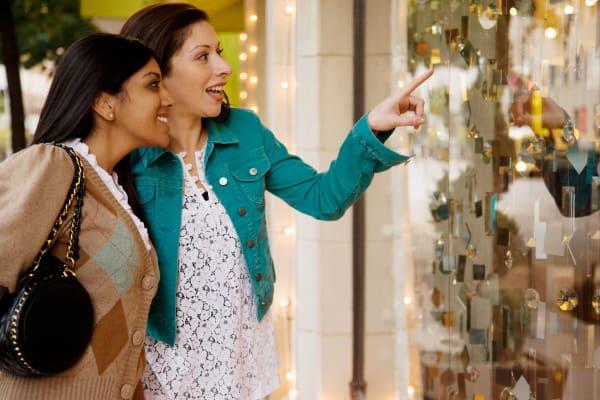 Women enjoy shopping in Chatham