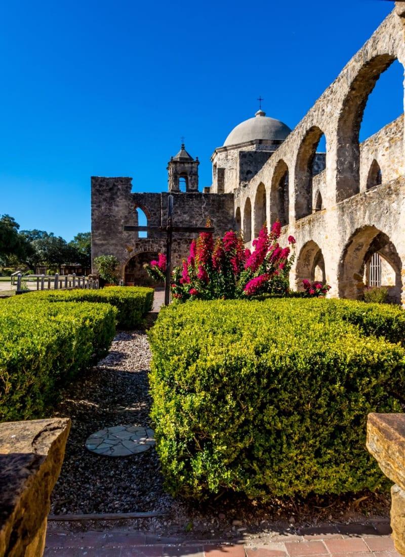 Historical landmark near Marquis at TPC in San Antonio, Texas
