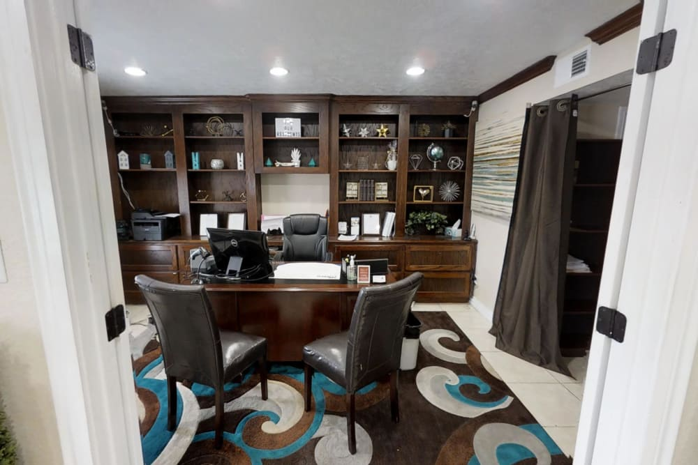 Office space at Northlake Manor Apartments in Humble, Texas