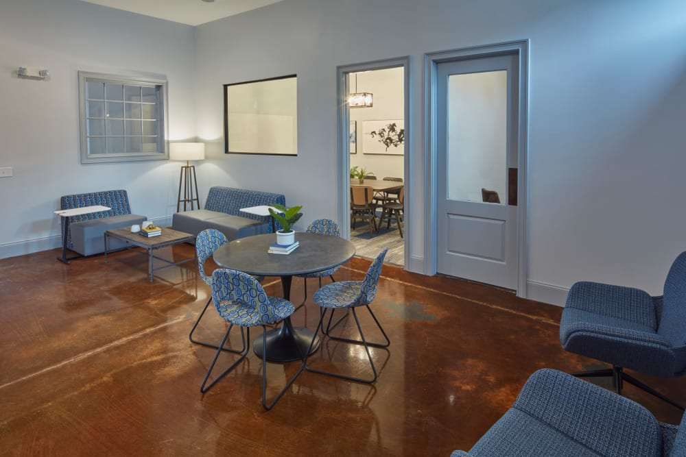 Group study rooms at Trifecta Apartments