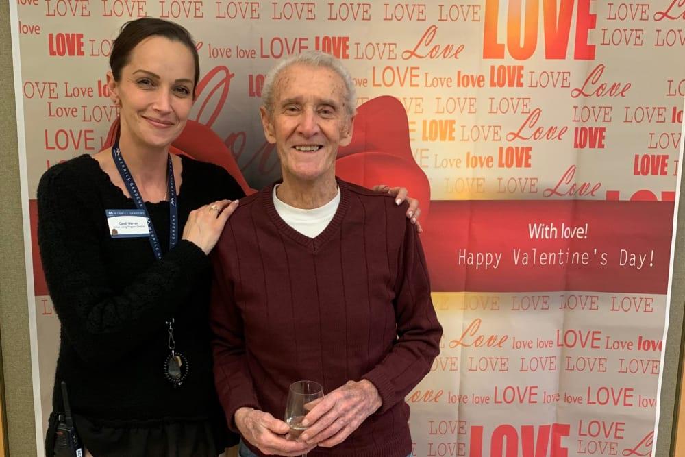 caretaker and senior resident