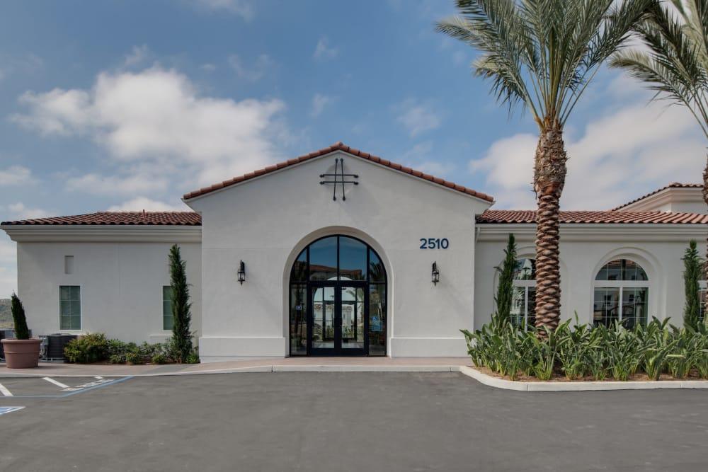 Front view at Montecito Apartments at Carlsbad in Carlsbad, California