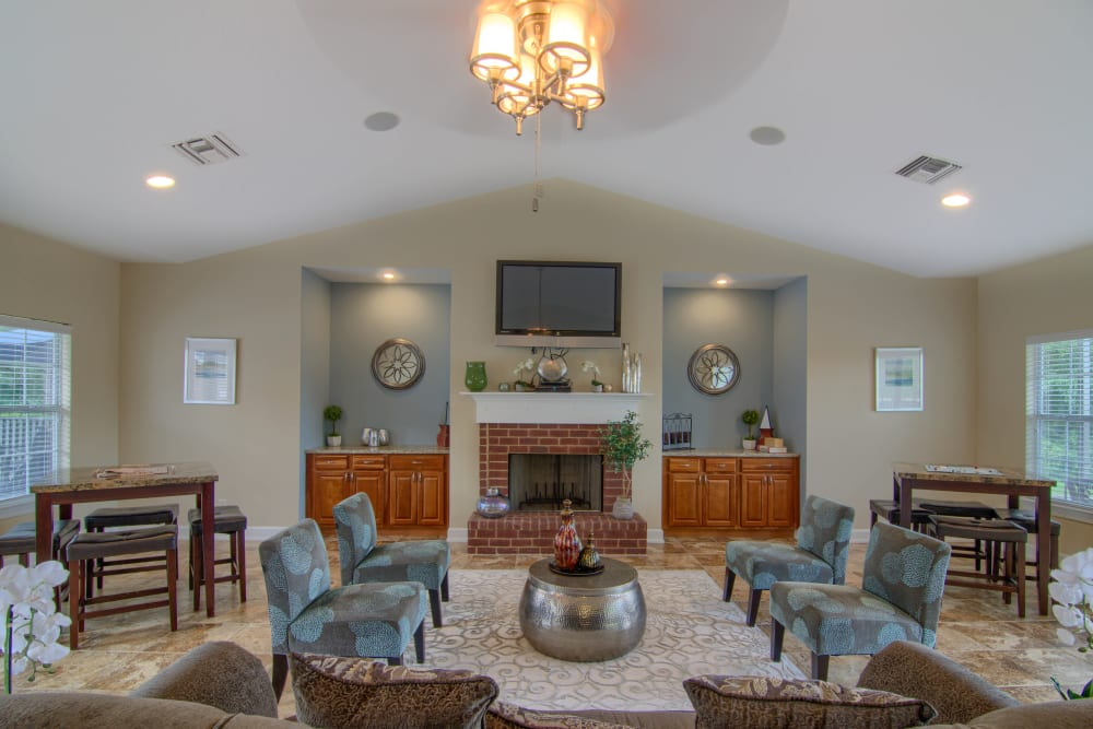 Clubhouse at Lancaster Place in Calera, Alabama