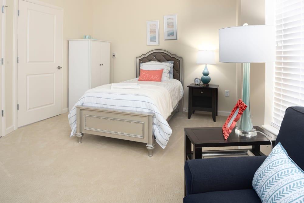 Bedroom at Harmony at Spring Hill in Lorton, Virginia