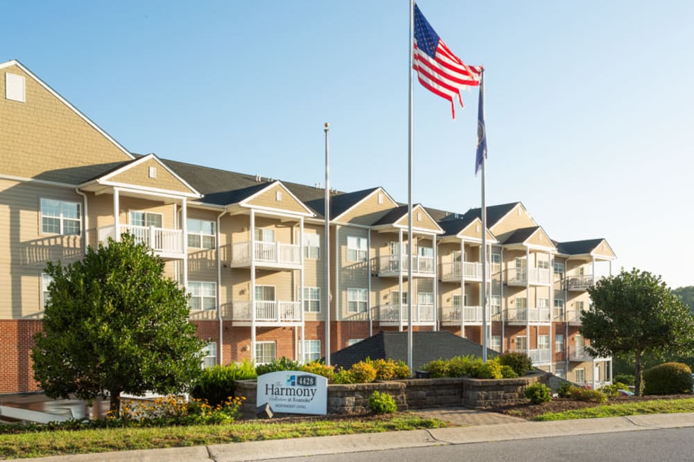 Exterior at The Harmony Collection at Roanoke - Independent Living in Roanoke, Virginia