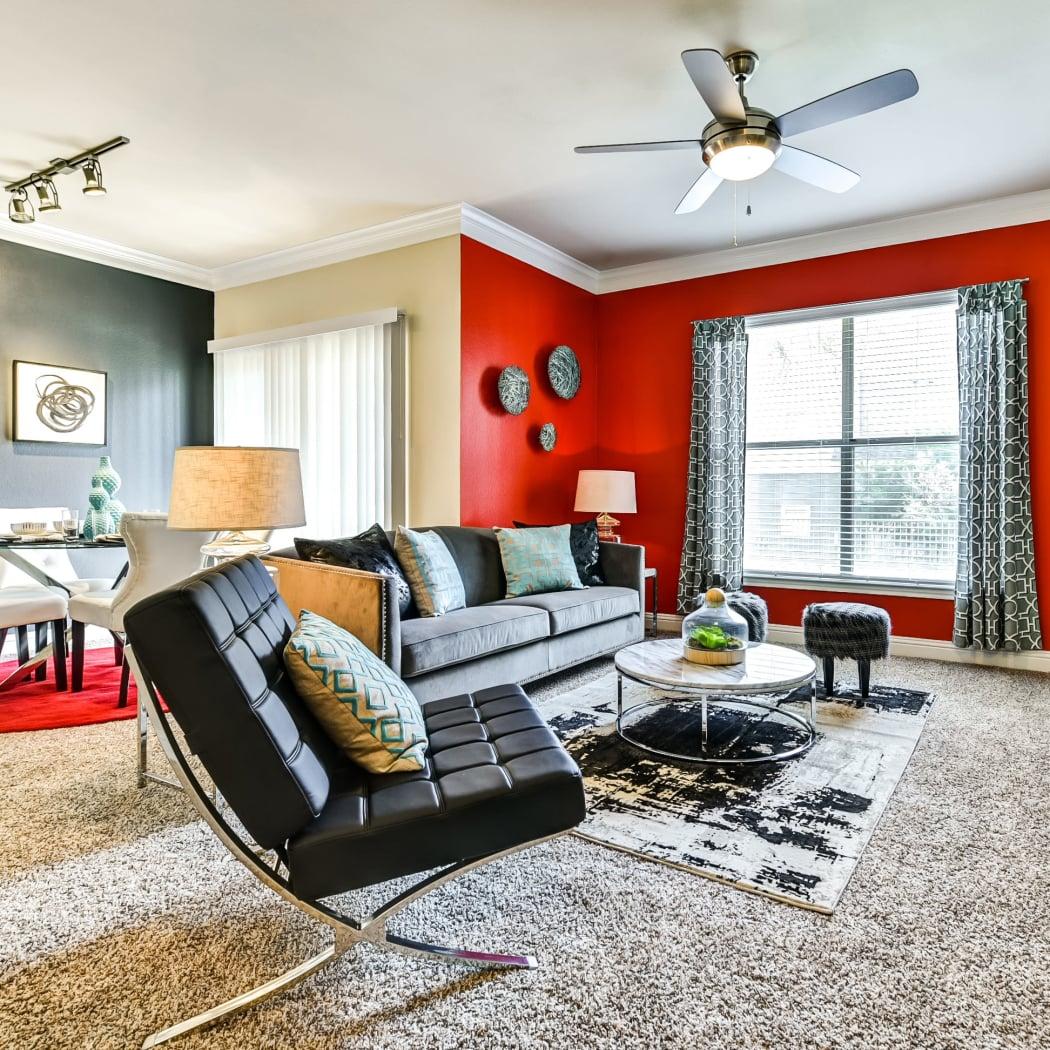 Open floor plans at Abbey at Vista Ridge Apartments