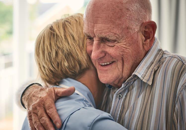 Home for seniors at Estancia Del Sol in Corona, California