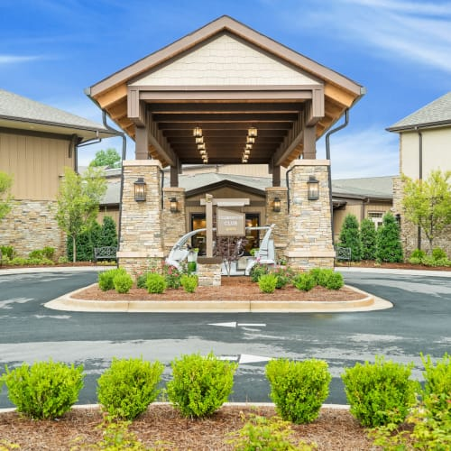 Outside building rendering of Celebration Village in Acworth, Georgia