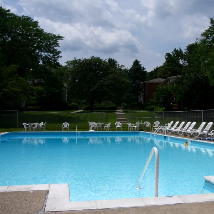 Pool at Center Grove Village