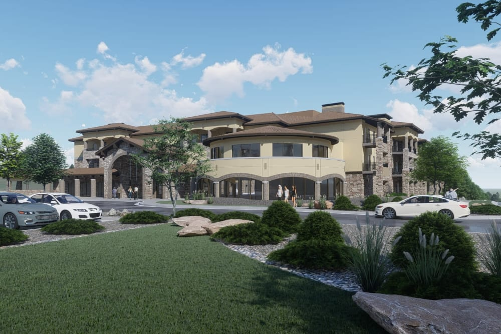Street view of Overland Property Group in Leawood, KS