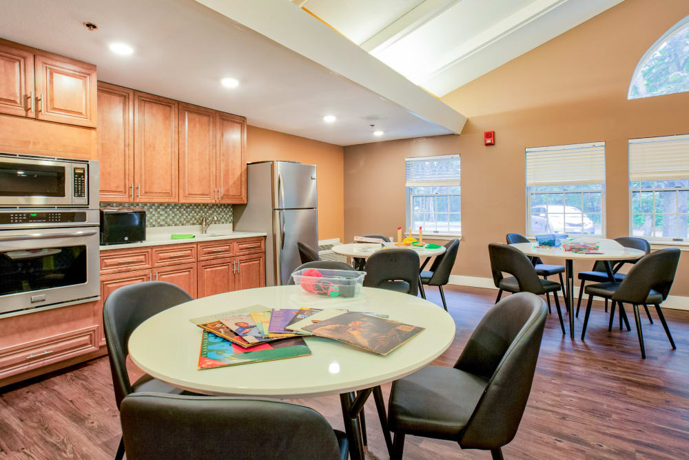 Wood Haven Senior Living in Tewksbury, Massachusetts offers an activity room
