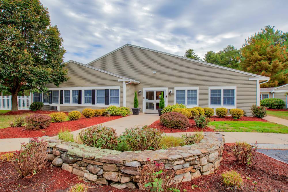 Exterior at Senior Living Community in Tewksbury, Massachusetts