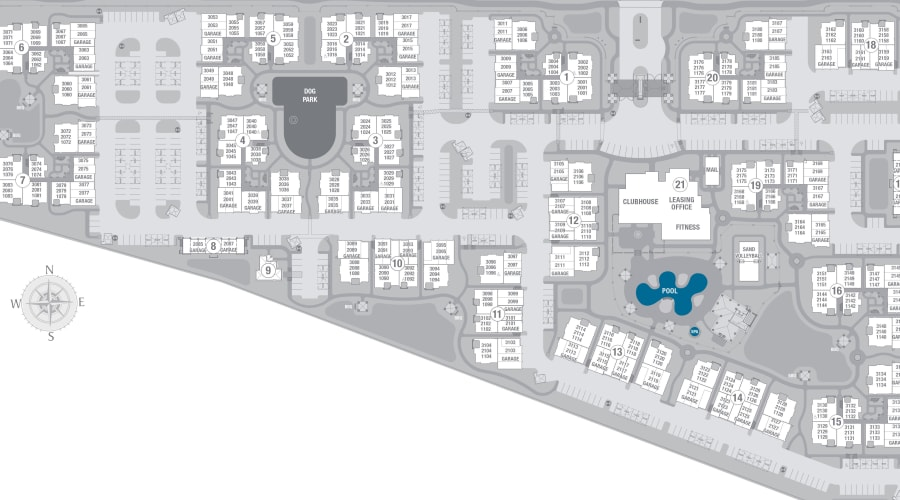 San Milan site plan