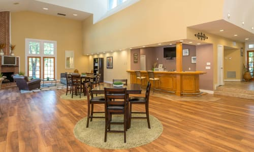 The clubhouse at Reflections at Virginia Beach