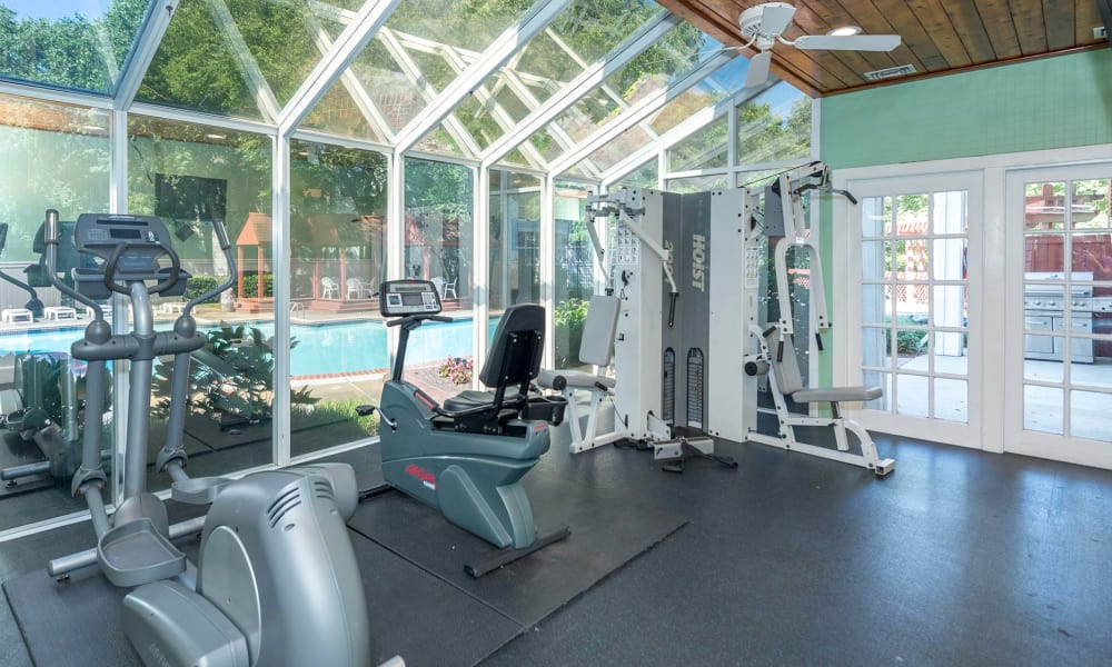 Fitness center at Reflections at Virginia Beach in Virginia Beach