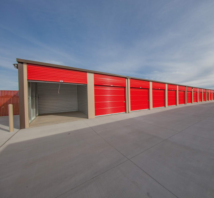Drive-up units available at StorQuest Express - Self Service Storage in West Sacramento, California