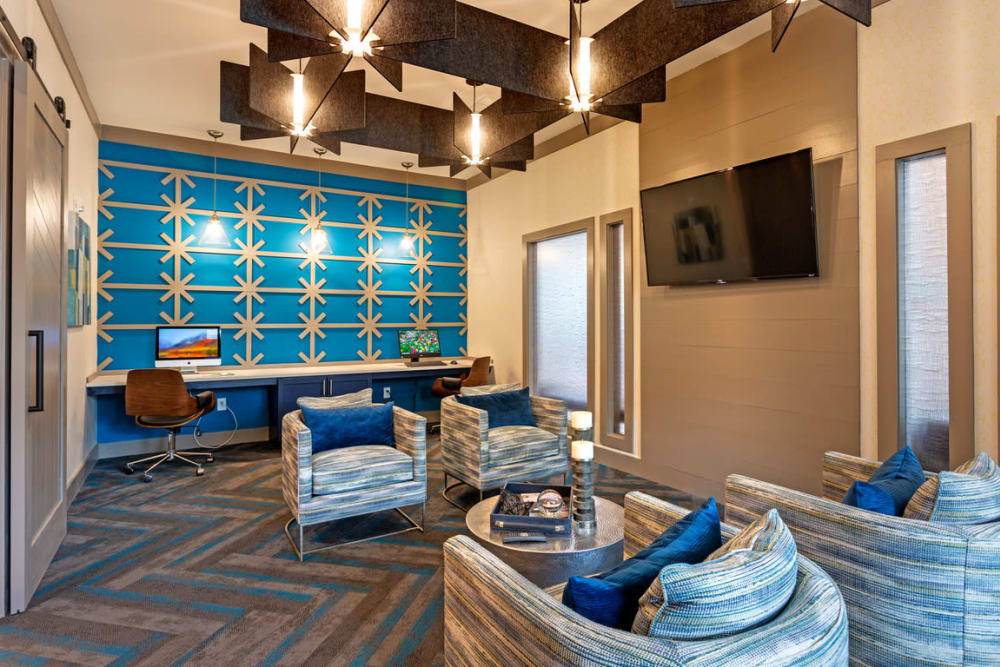 Resident Work Lounge at Lullwater at Blair Stone in Tallahassee, Florida