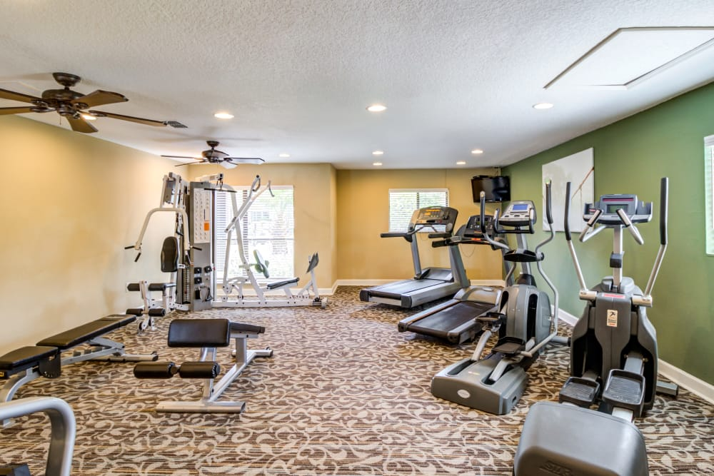 Fitness Room at Arbors at Orange Park in Orange Park, FL