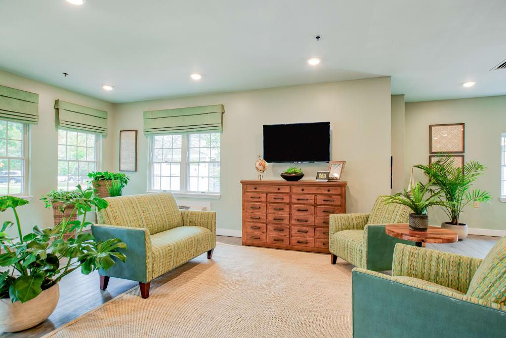 Our Senior Living Community in Tewksbury, Massachusetts offers great community areas