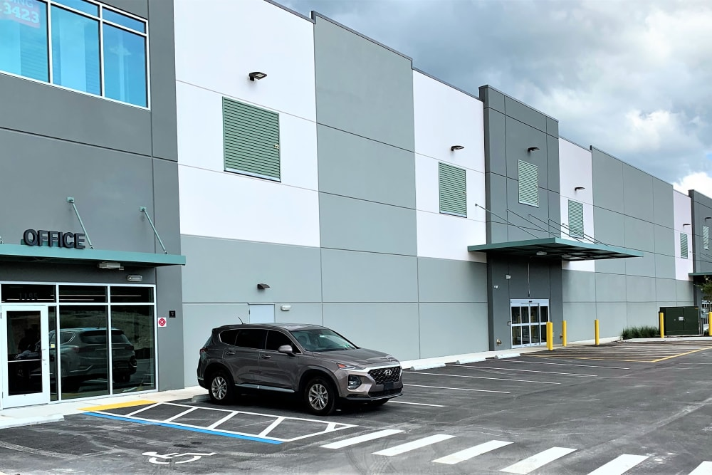 Front of complex at My Neighborhood Storage Center in Jacksonville, Florida