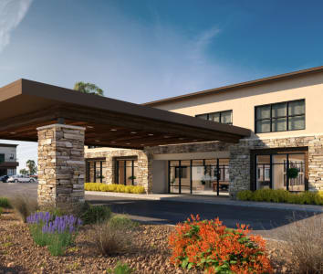 Brightwater Senior Living community Carnegie Heights at Henderson