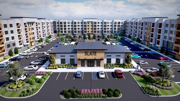 Slate at Merrimack rendering